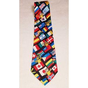 Other - Around the World Culture Kid's Silk Tie
